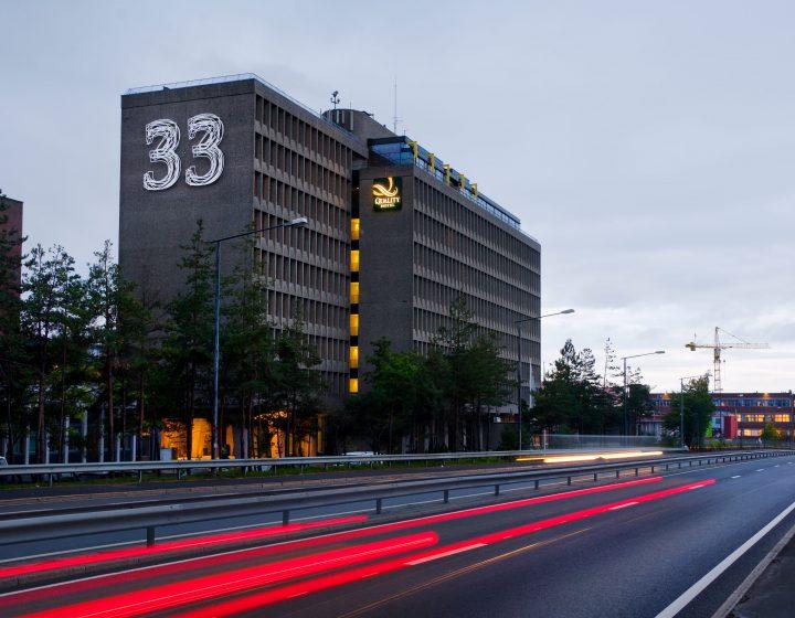 Hotell 33 Økern Oslo Aspelin Ramm OBOS