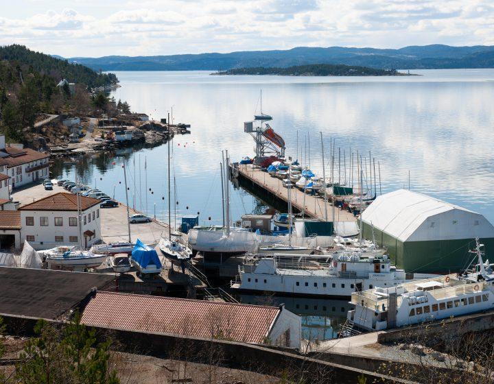 Svestad Marinepark Svestad Brygge Nesodden Aspelin Ramm