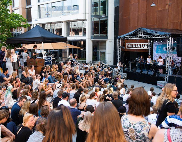 Vulkan Arena Konsert Musikkfest Oslo