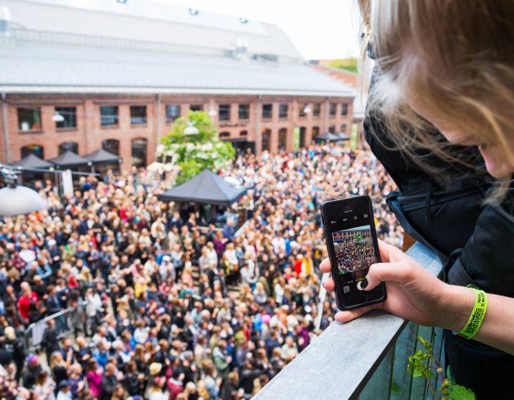 Musikkfest Vulkan Oslo Aspelin Ramm
